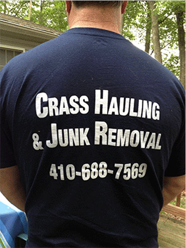 Junk removal t shirt